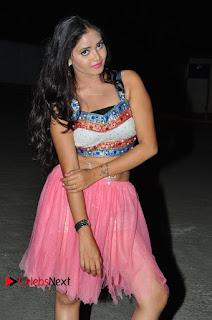 Shreya Vyas Spicy Dancer at Araku Road Lo Audio Launch Event in Choli and Skirt