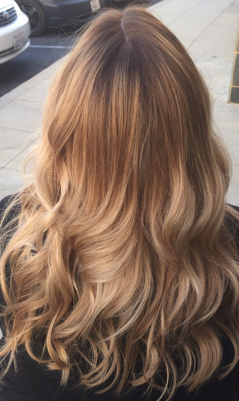 Join The Gossip Color Melted Blonde