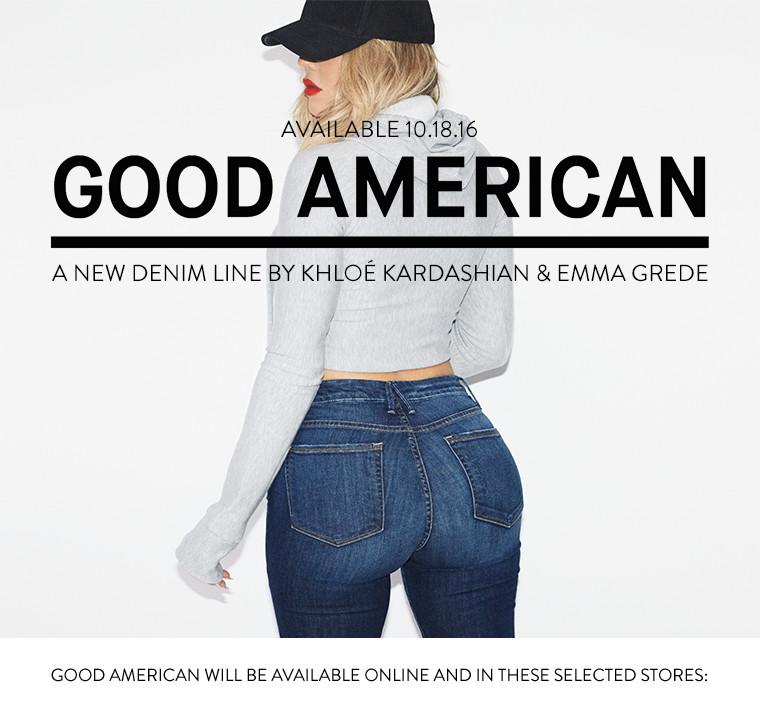 1c8a7569829 Good American Denim by Khloe Kardashian Just Dropped!