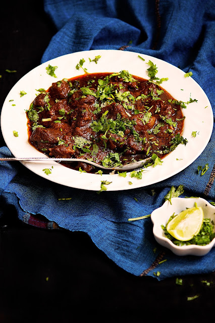 sukha mutton recipe