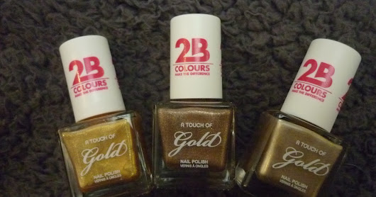 Swatches: 2B A Touch Of Gold nagellak