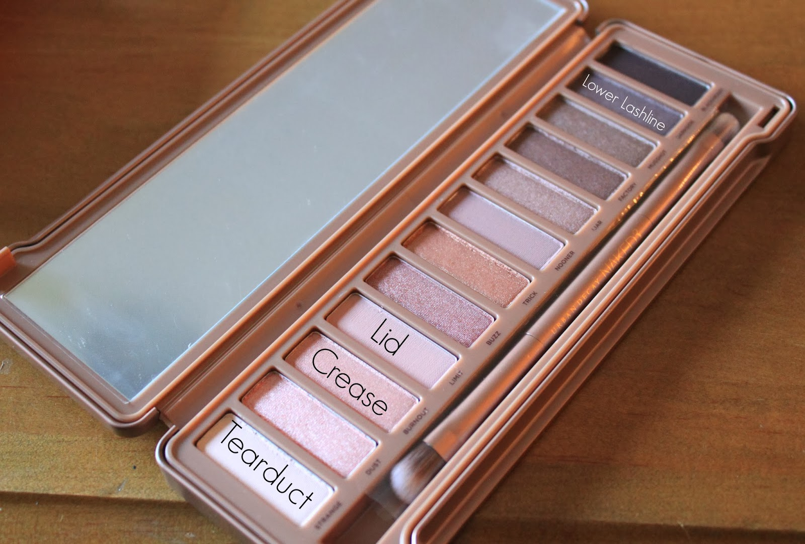 An easy day time smokey eye using Urban Decay Naked Palette 3 beauty blogger Mash Elle