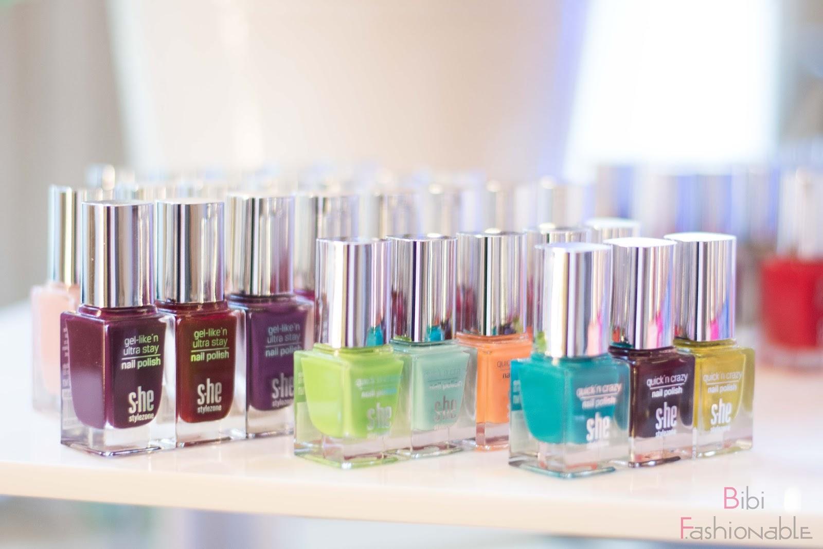Wir Entdeckerinnen Beauty Blogger Event by dm S.he Nagellacke