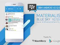 BBM MOD Materialism Blue Sky v2.12.0.11