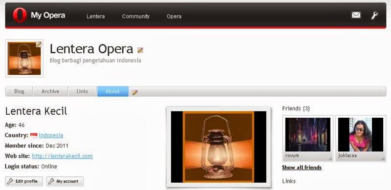 My Opera akan mengakhiri layananannya