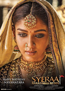 Sye Raa Movie Nayanthara First Look Poster n Still
