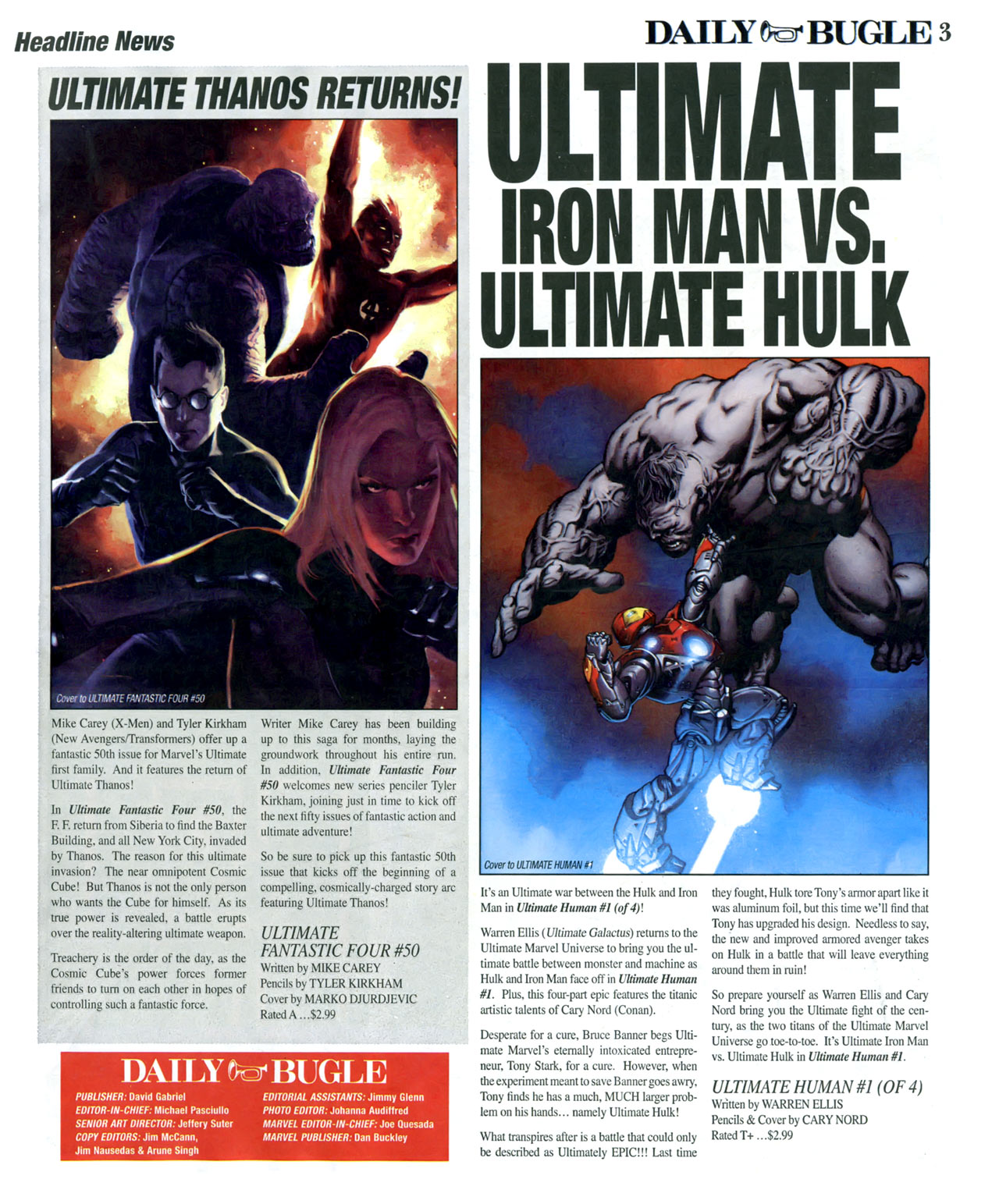 Read online Daily Bugle (2006) comic -  Issue #16 - 4