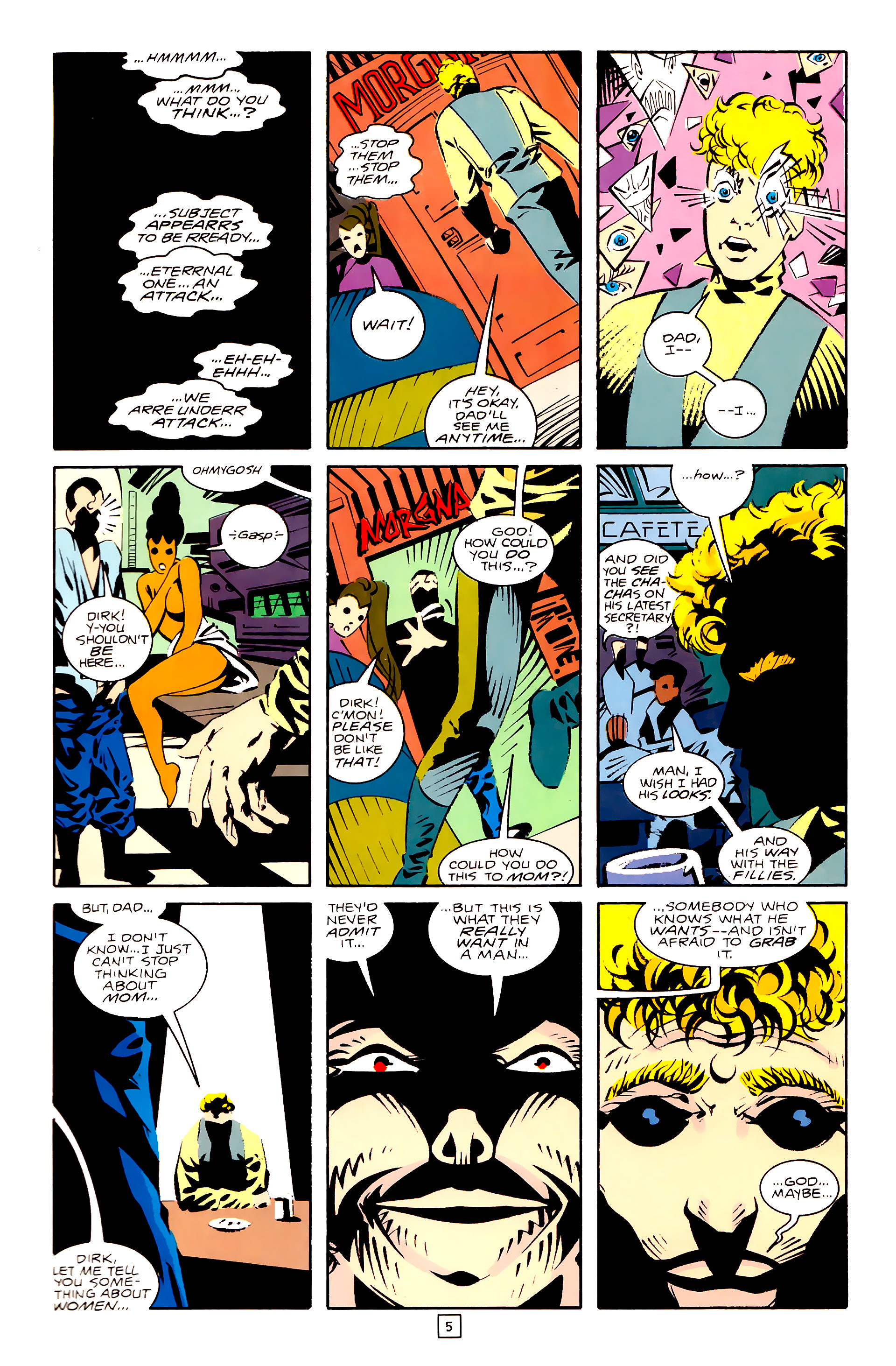 Legion of Super-Heroes (1989) 28 Page 5