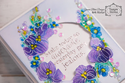 Make Today Awesome Card by Tonya Gibbs for Yvonne Blair Designs