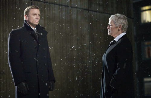 Quantum of Solace Daniel Craig Judi Dench James Bond