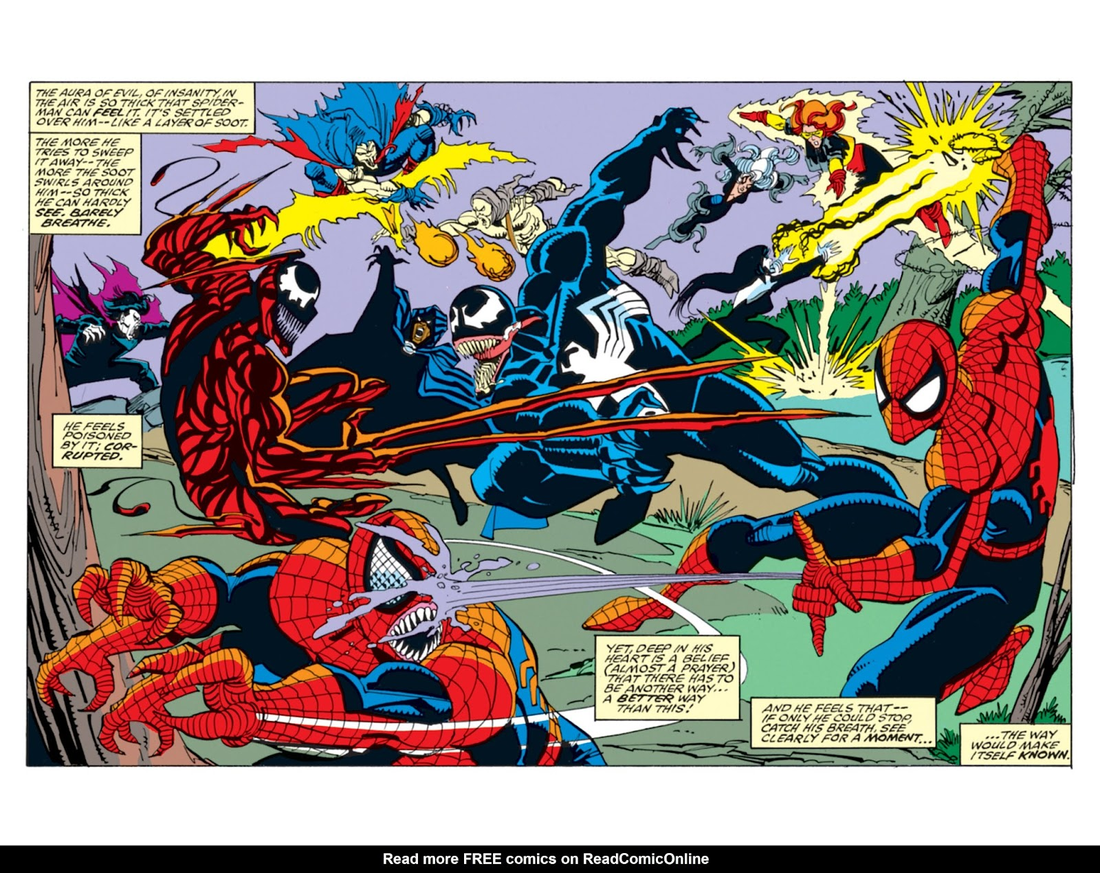 Read online Spider-Man: Maximum Carnage comic -  Issue # TPB (Part 2) - 91