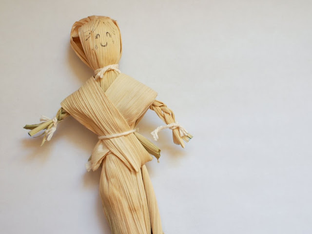 how to make corn husk doll