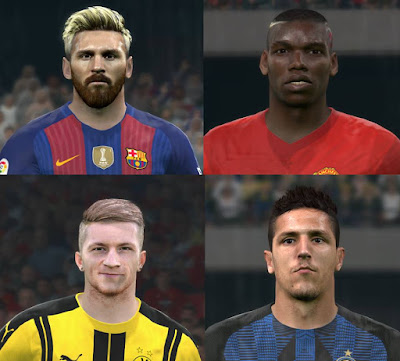 PES 2016 New facepack 16-17 by Jonathan