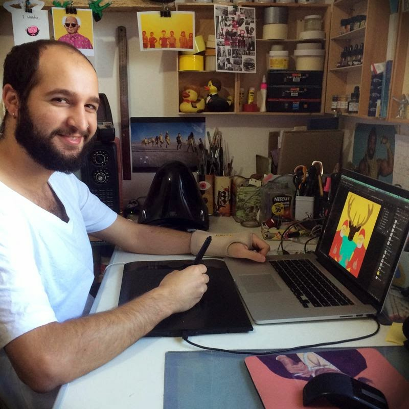 Author - Israeli designer and draftsman Amti Shimoni