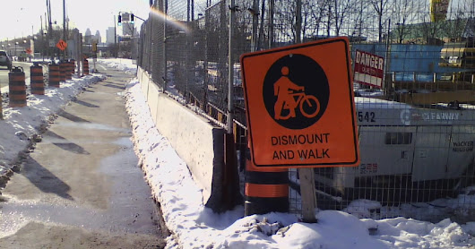 Public Works Report Outlines Better Cycling Infrastructure Protocols During Construction