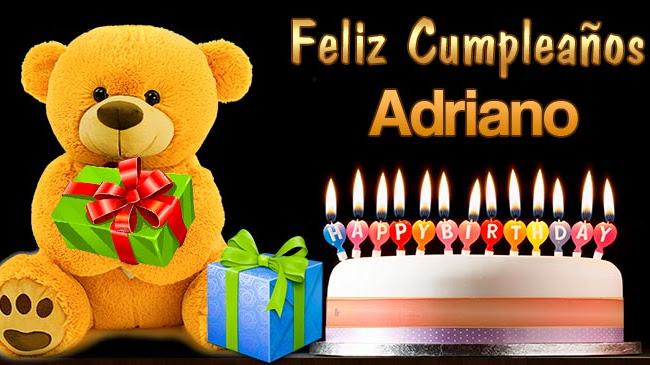 Feliz Cumpleaños Adriano