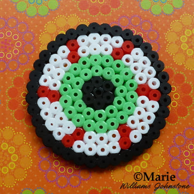 halloween perler bead patterns eyeball design