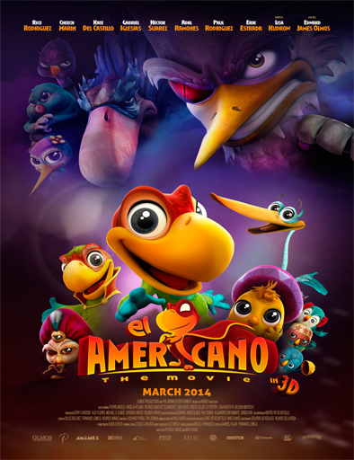 Ver El Americano: The Movie (2016) Online