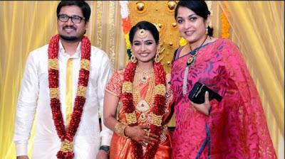 ramya-krishna-at-kalyani-poornitha-rohit-wedding