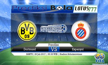 Prediksi Pertandingan antara Dortmund vs Espanyol 29 Juli 2017