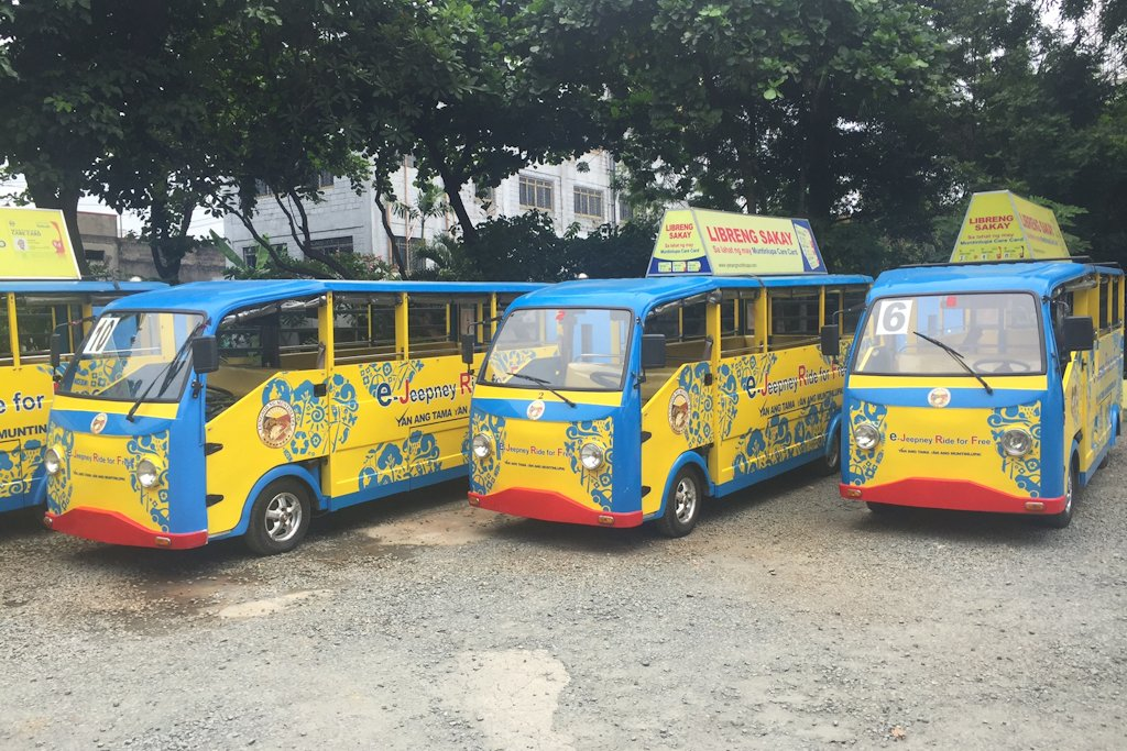Muntinlupa Is Philippines E Jeepney Capital Carguide Ph