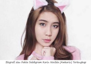 Profil Biodata Awkarin Alias Karin Novilda Lengkap dengan Fotonya