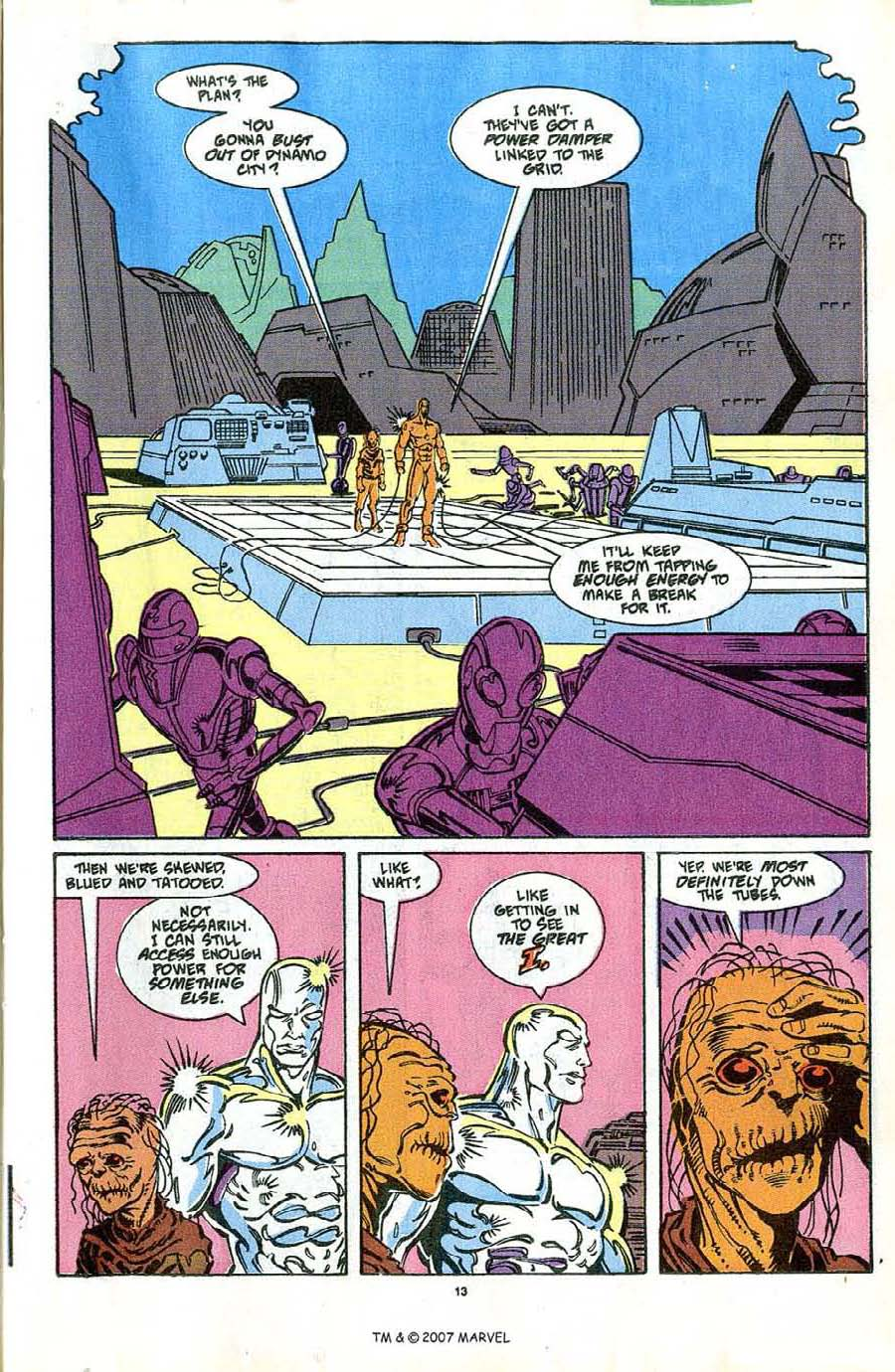 Read online Silver Surfer (1987) comic -  Issue #42 - 15