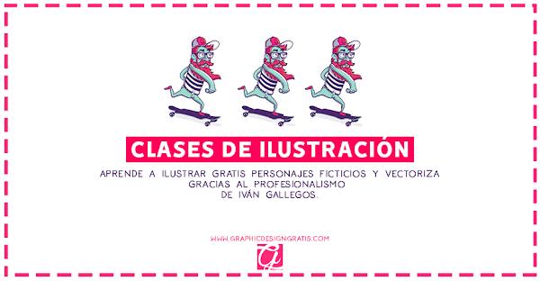 21 clases de ilustración gratis con Iván Gallegos