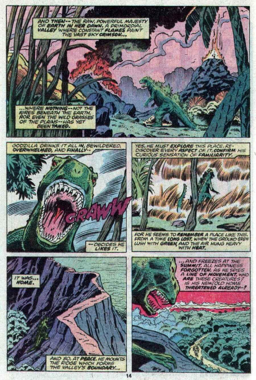 Godzilla (1977) Issue #21 #21 - English 9