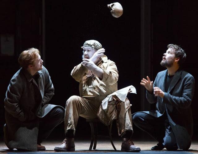 Brett Dean: Hamlet - Glyndebourne on Tour - Gavan Ring, Brian Bannatyne Scott, David Butt Philip (Photo Richard Hubert Smith)