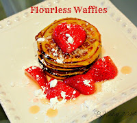 Banana Egg Flourless Waffles Recipe for International Waffle Day