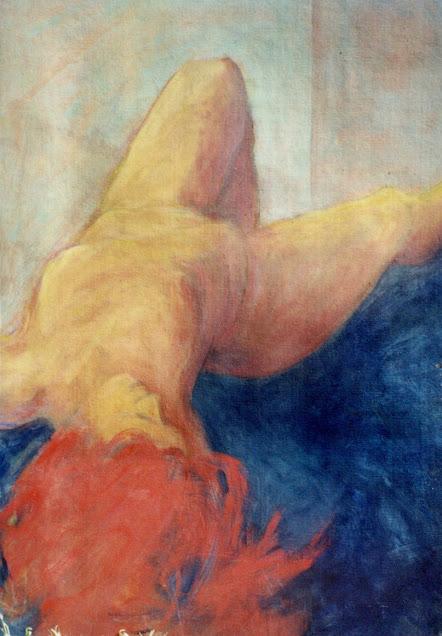 Reclining Nude - Painting - Rosemary Marchetta