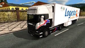 Krone FRC Logesta standalone trailer