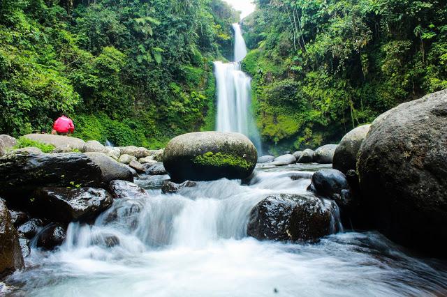 Curug Tansi Ampek Sumatra Barat