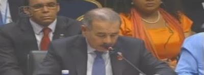 Discurso del Presidente Danilo en Cumbre
