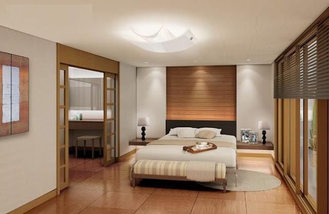 thiết kế phòng ngủ chung cư samsora premier