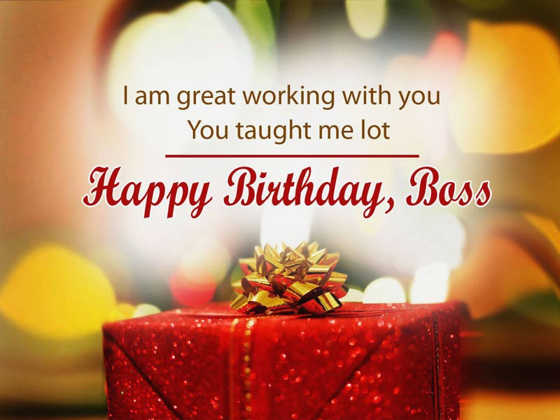 Outstanding Happy Birthday Wishes Quotes And Message For Boss Happy Personalised Birthday Cards Cominlily Jamesorg