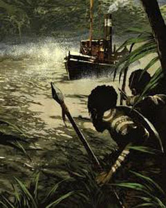 heart of darkness river quotes