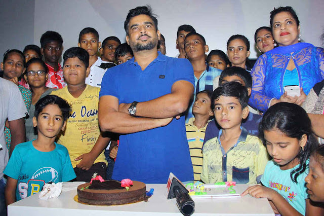 R Madhavan Celebrates His Birthday at Le Reve Cinema with Fans