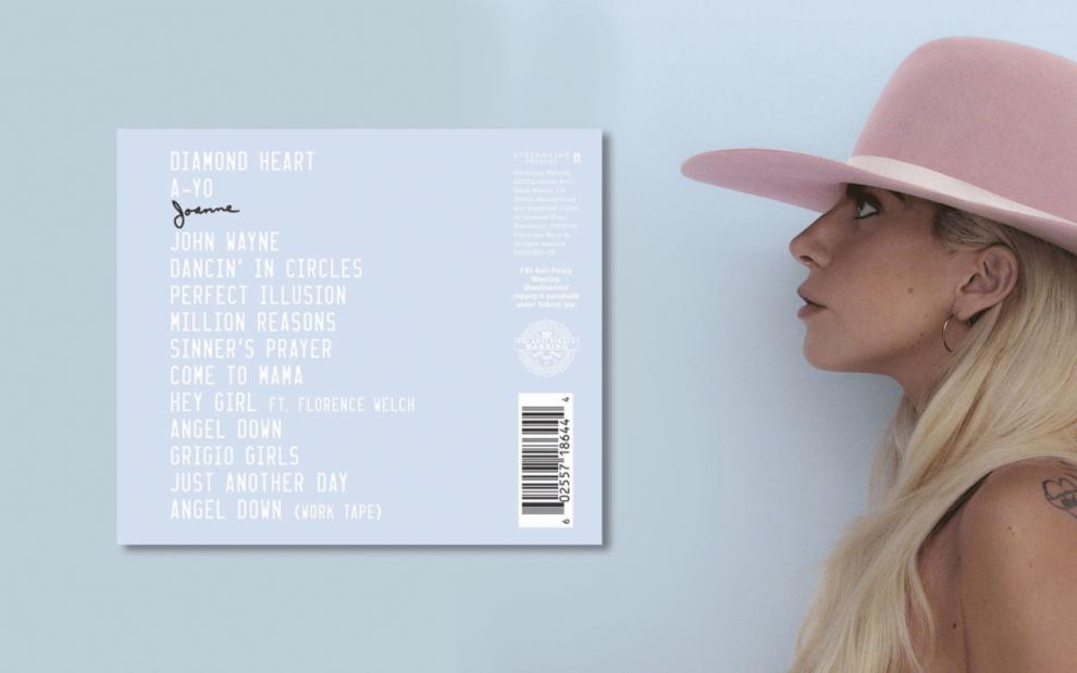 Joanne o novo álbum da Lady Gaga