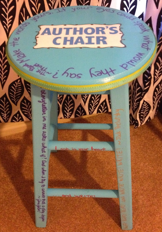 Creating an Author's Chair Students Will Want to Sit On
