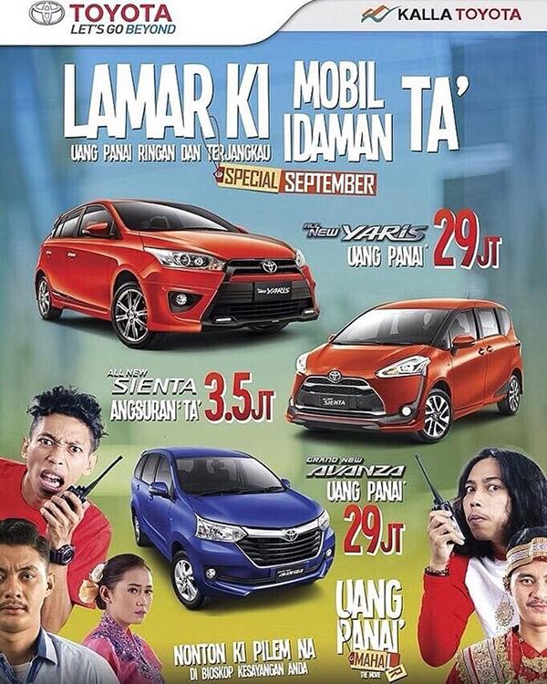 Promo Toyota Sidrab 2016 Lamar Ki Mobil Idaman TA