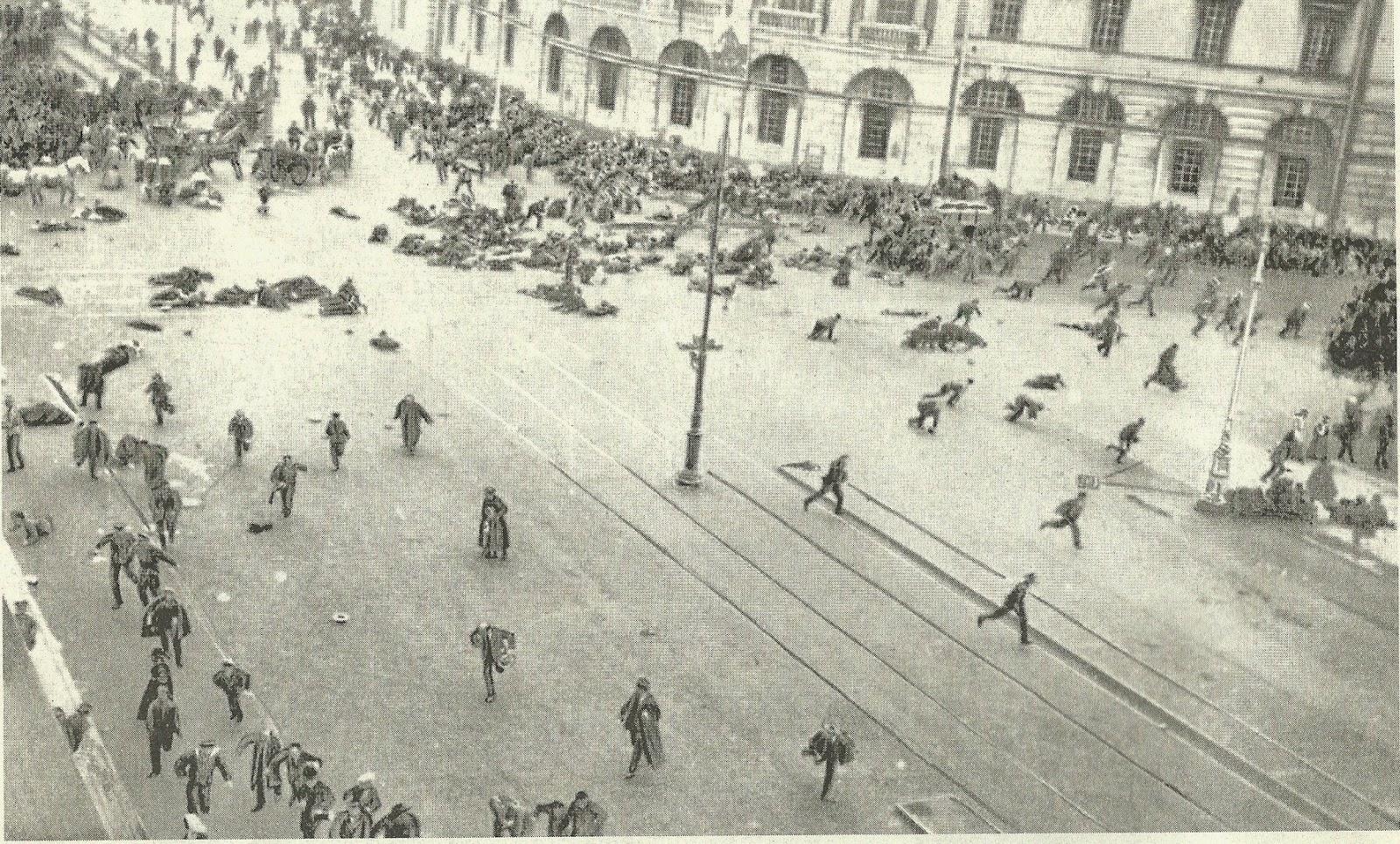 Resultado de imagen para guerra en Petrogrado