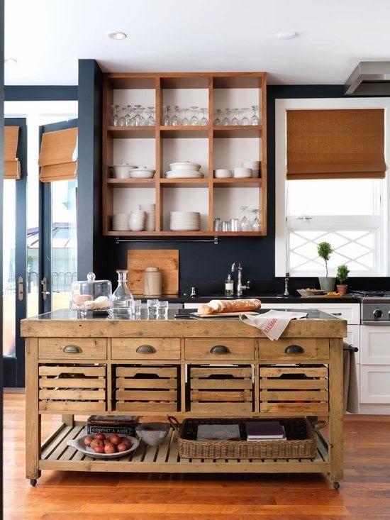 hogares frescos fabulosas ideas para islas de cocinas rsticas que puedes hacer por ti mismo