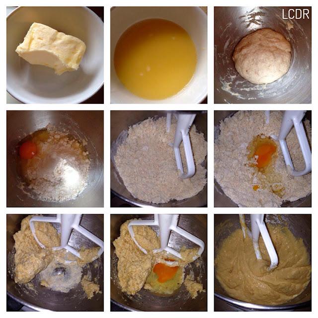 Receta de torta de babás napolitanos al ron 02