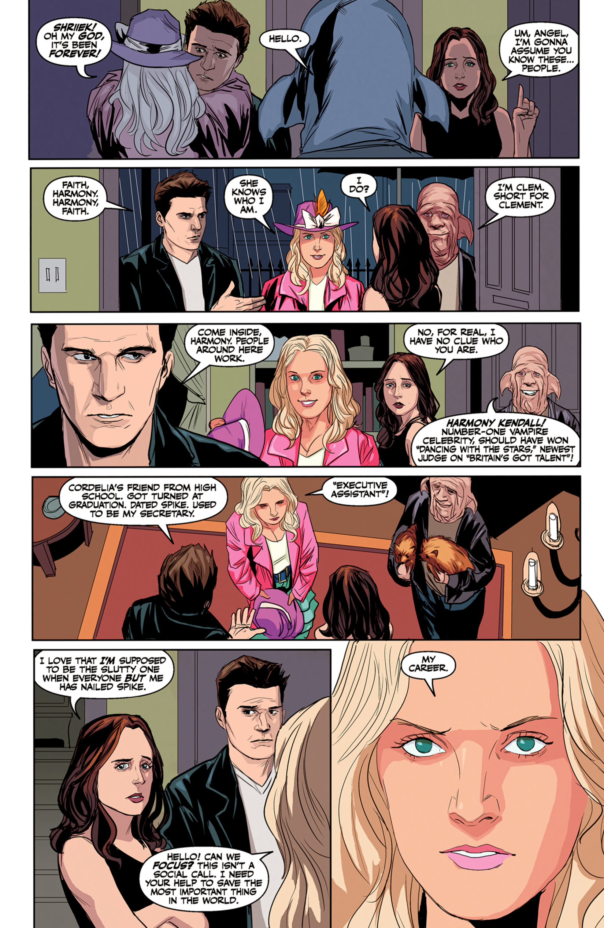 Read online Angel and Faith comic -  Issue #5 - 6