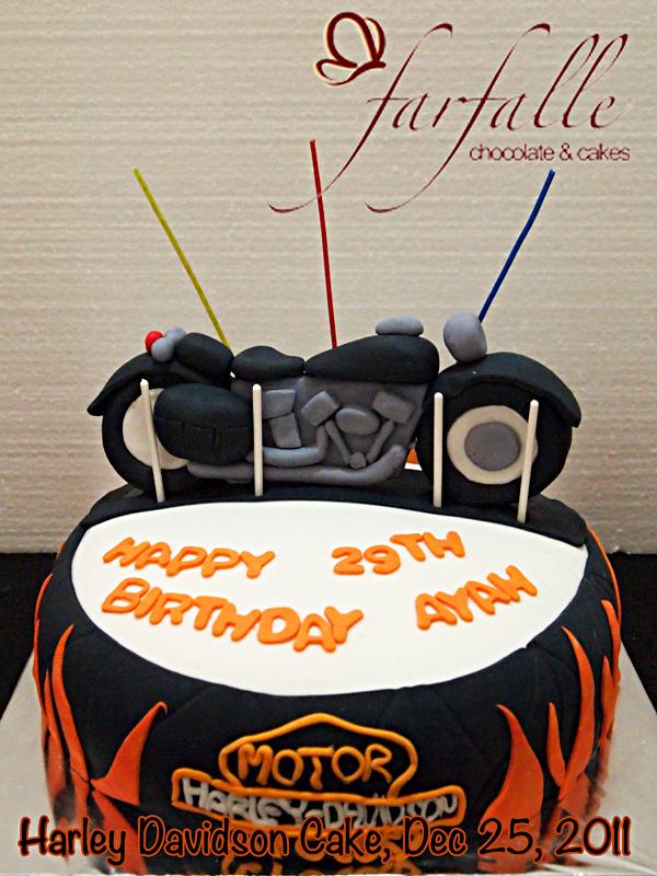 Farfalle Chocolate Amp Cakes Harley Davidson Birthday Cake