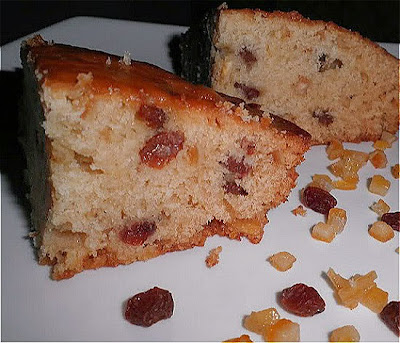 Raisin Citrus Cake Eggless Recipe @ treatntrick.blogspot.com
