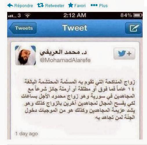 كذبة جهاد النكاح : من شبيحة بشار الى اعلام الجيش المصرائلي الى أقذر خلق الله الاعلام التونسي
