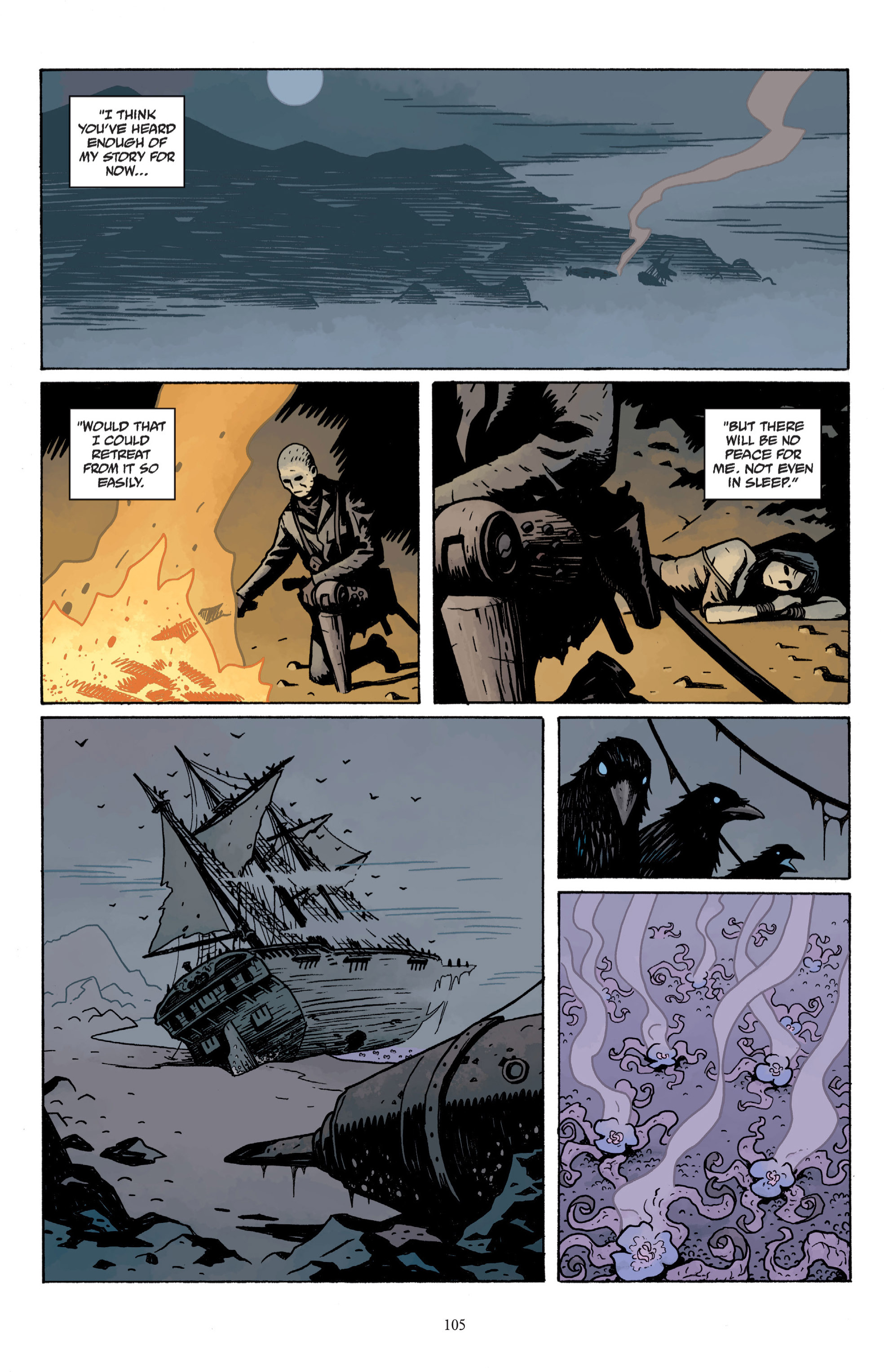 Read online Baltimore: The Plague Ships comic -  Issue # TPB - 105